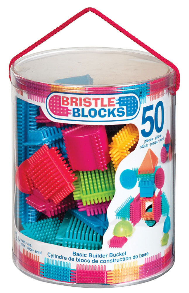 Bristle Blocks Конструктор игольчатый 50 деталей аппликатор кузнецова игольчатый