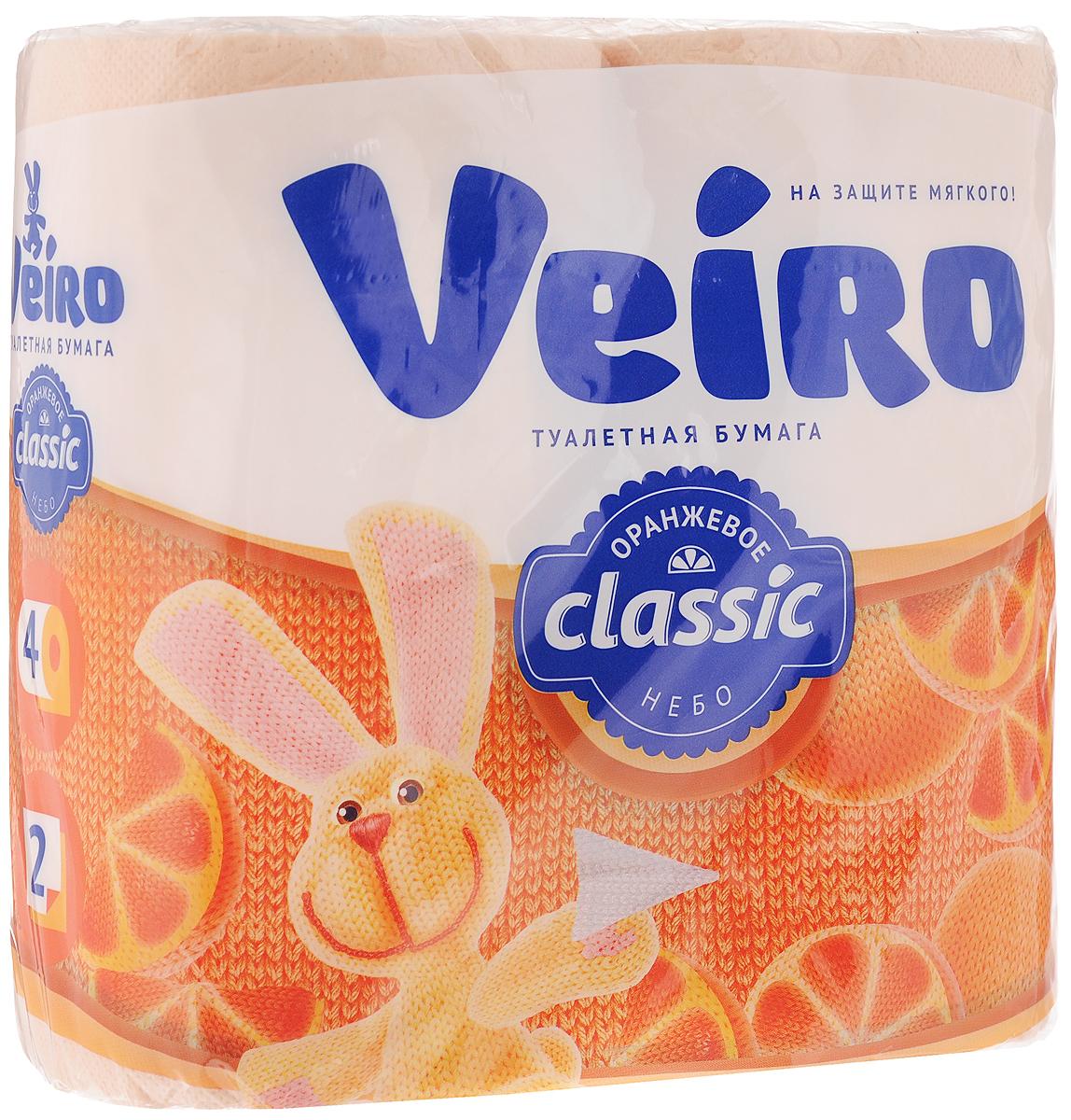 """Ароматизированная туалетная бумага Veiro """"Classic. Цитрус"""", выполнена из облагороженной  макулатуры и обладает приятным ароматом апельсина. Двухслойная туалетная бумага мягкая,  нежная, но в тоже время прочная, с отрывом по линии перфорации. Листы имеют рисунок с  тиснением.   Длина рулона: 17,5 м.  Количество слоев: 2.   Размер листа: 12,5 х 9,5 см.  Состав: 100% облагороженная макулатура."""