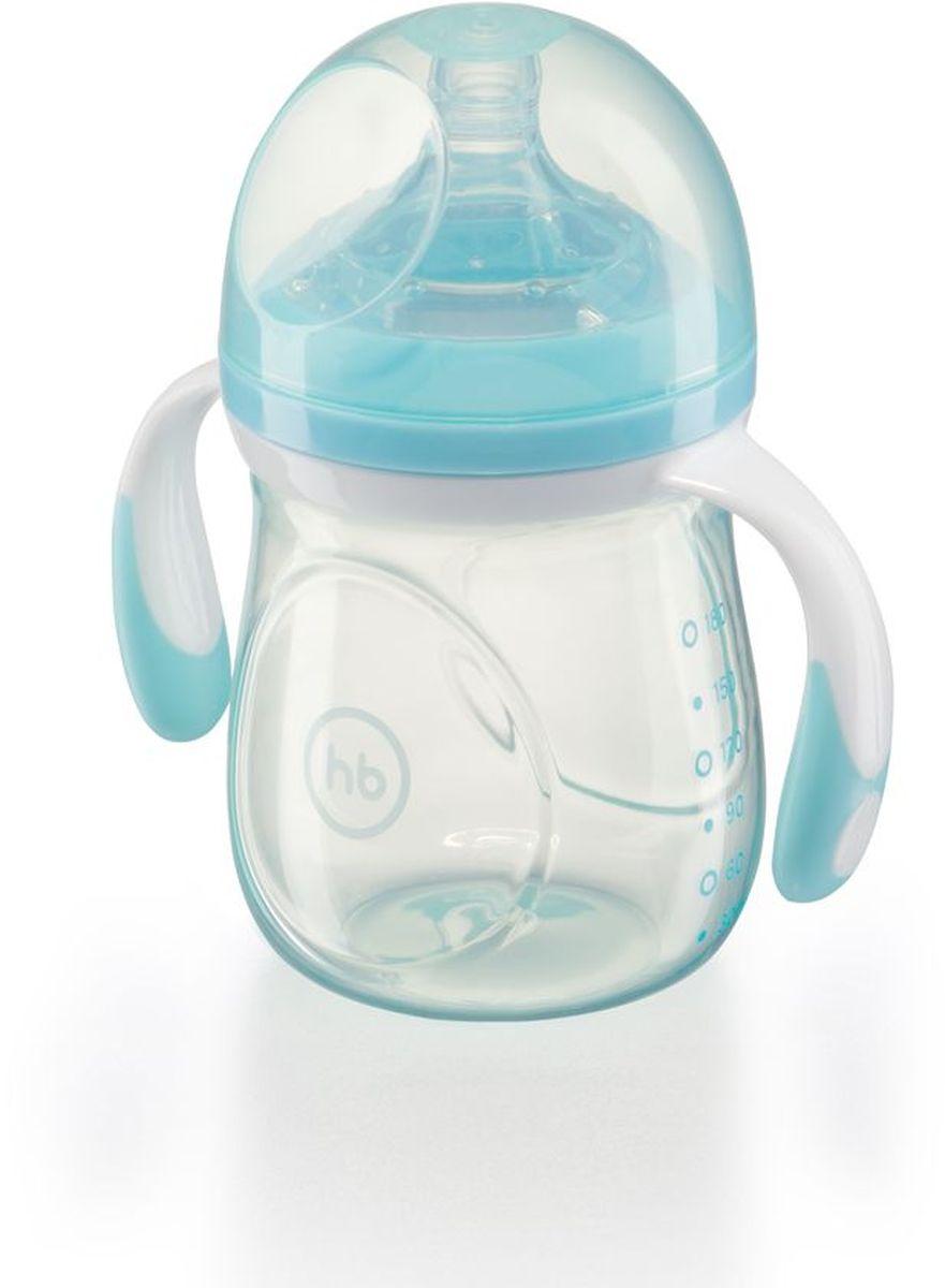 Happy Baby Бутылочка для кормления с ручками и антиколиковой силиконовой соской 180 мл бутылочки для кормления happy baby бутылочка для кормления с ручками и антиколиковой силиконовой соской 180 мл