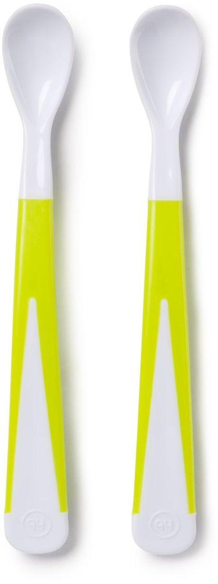 Happy Baby Набор ложек для кормления New Style цвет белый, салатовый15023 NEWНабор ложек для кормления Happy Baby New Style - идеален для самостоятельного питания малыша, благодаря нескользящей ручке, ложечка не выскользнет у ребёнка из руки.
