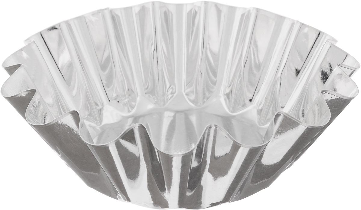 """Форма """"Кварц"""", выполненная из белой жести, предназначена для выпечки и приготовления желе. Стенки изделия рельефные.С формой """"Кварц"""" вы всегда сможете порадовать своих близких оригинальной выпечкой.Диаметр формы (по верхнему краю): 18,8 см.Высота формы: 6,7 см."""