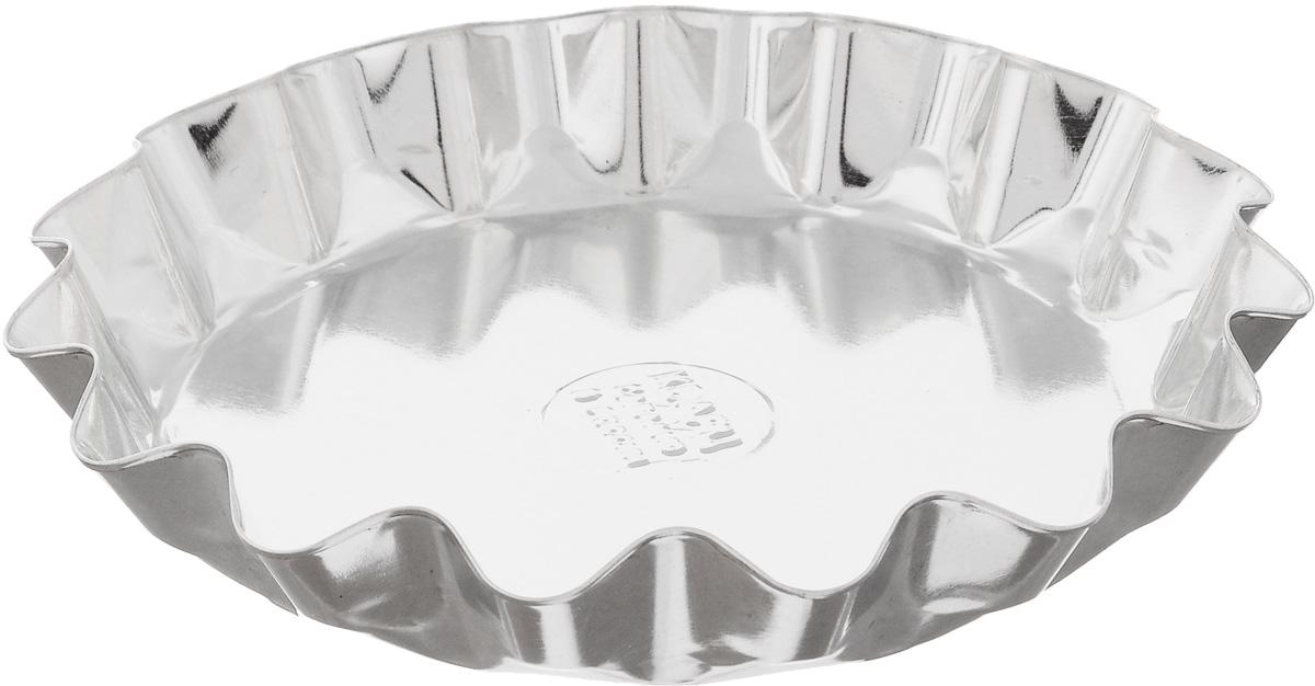 """Форма """"Кварц"""", выполненная из белой жести, предназначена для выпечки и приготовления желе. Стенки изделия рельефные.С формой """"Кварц"""" вы всегда сможете порадовать своих близких оригинальной выпечкой.Диаметр формы (по верхнему краю): 14,5 см.Высота формы: 2,6 см."""