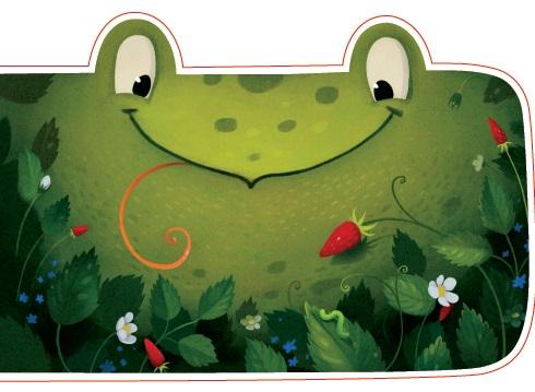 Открытка фигурная с конвертом Лягушка, размер: 14х20 см (+ магнит)БОЛЬШАЯ 42Большая фигурная открытка «Лягушка» с забавным стихотворением внутри станет замечательным дополнением к подарку.