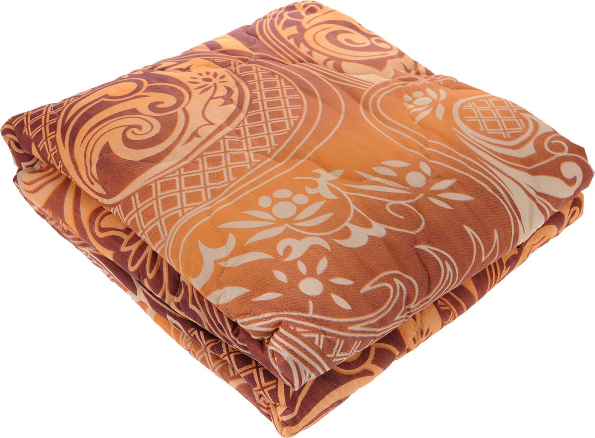"""Одеяло теплое """"ЭГО"""", наполнитель: экофайбер, цвет в ассортименте, 200 x 220 см"""