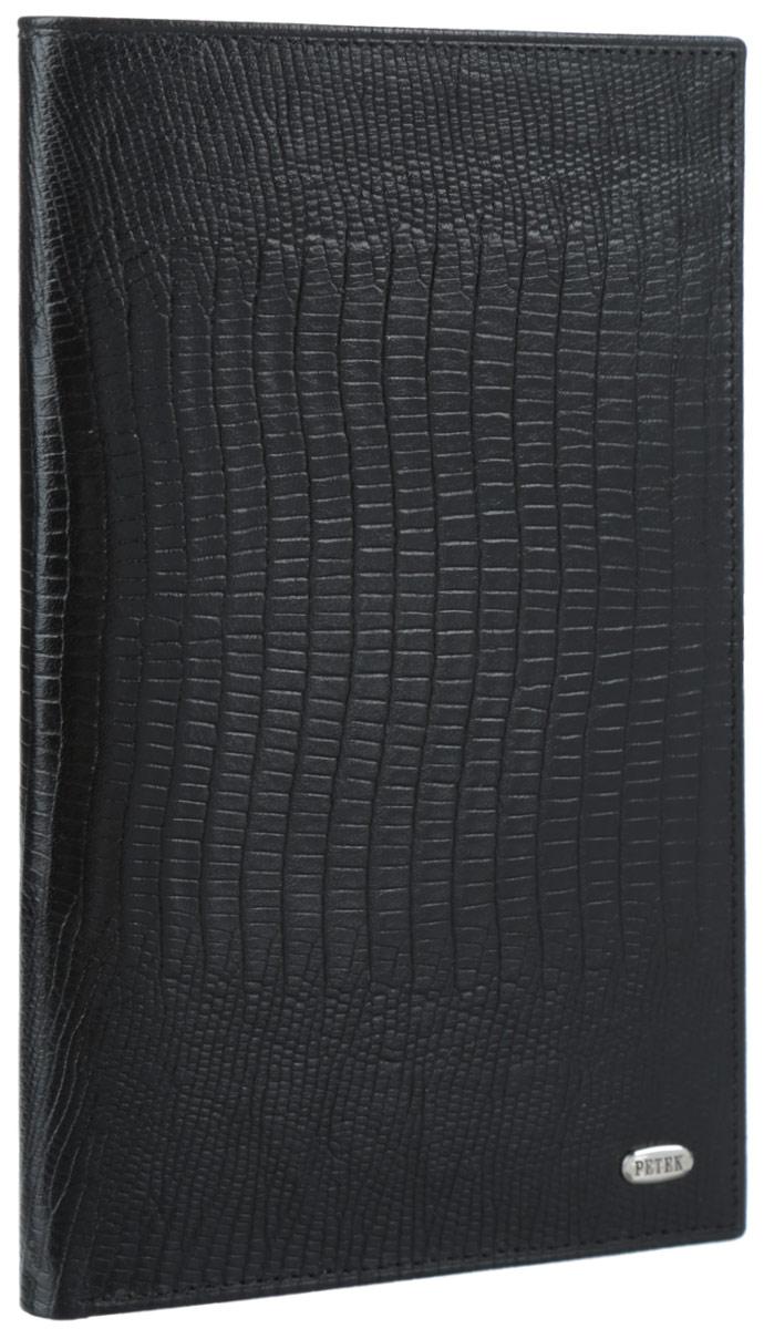 Бумажник путешественника Petek, цвет: черный. 554.041.01
