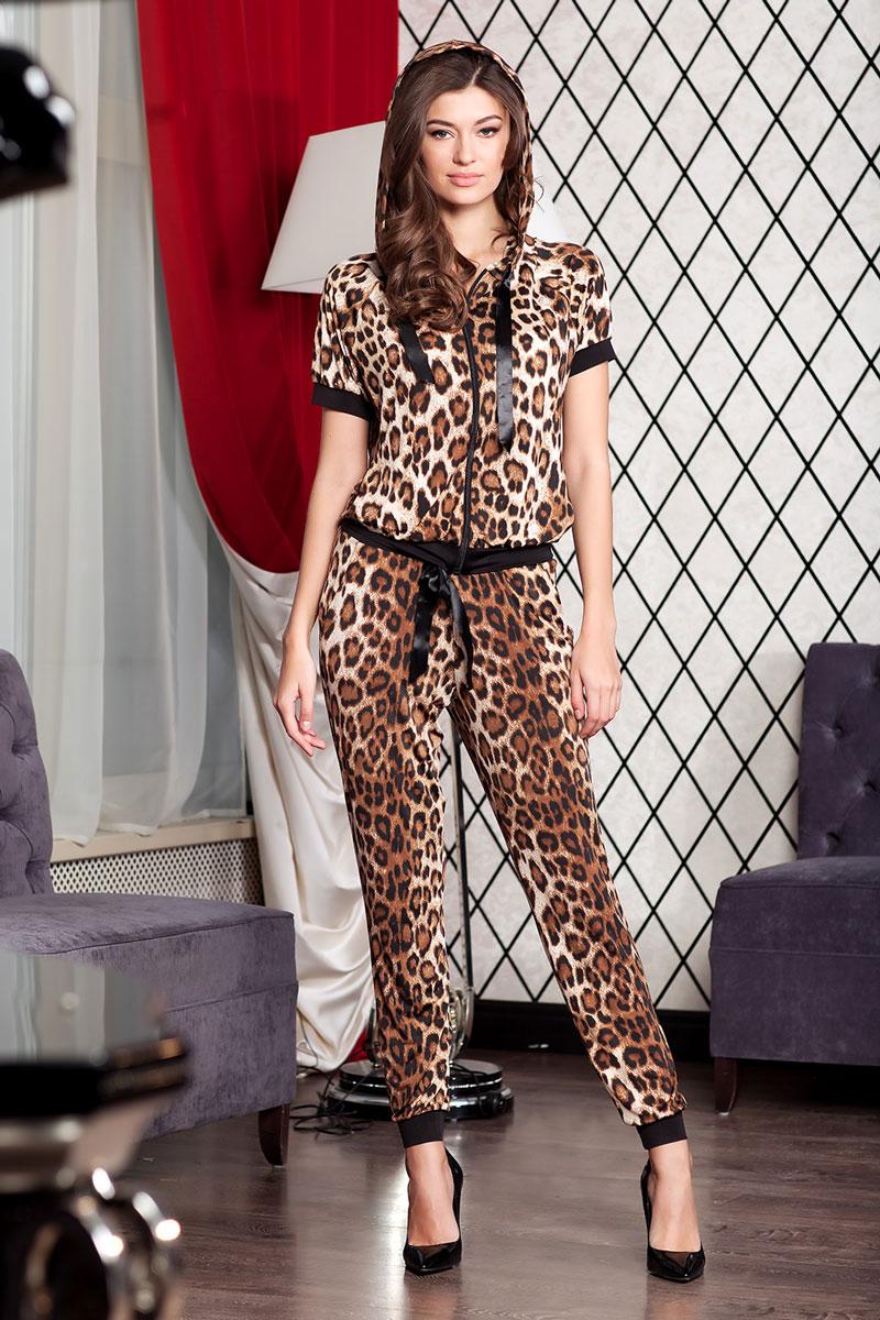 Толстовка женская Ruxara, цвет: коричневый. 1800241_49. Размер 44 футболка женская ruxara цвет молочный 1202700 6 размер 52