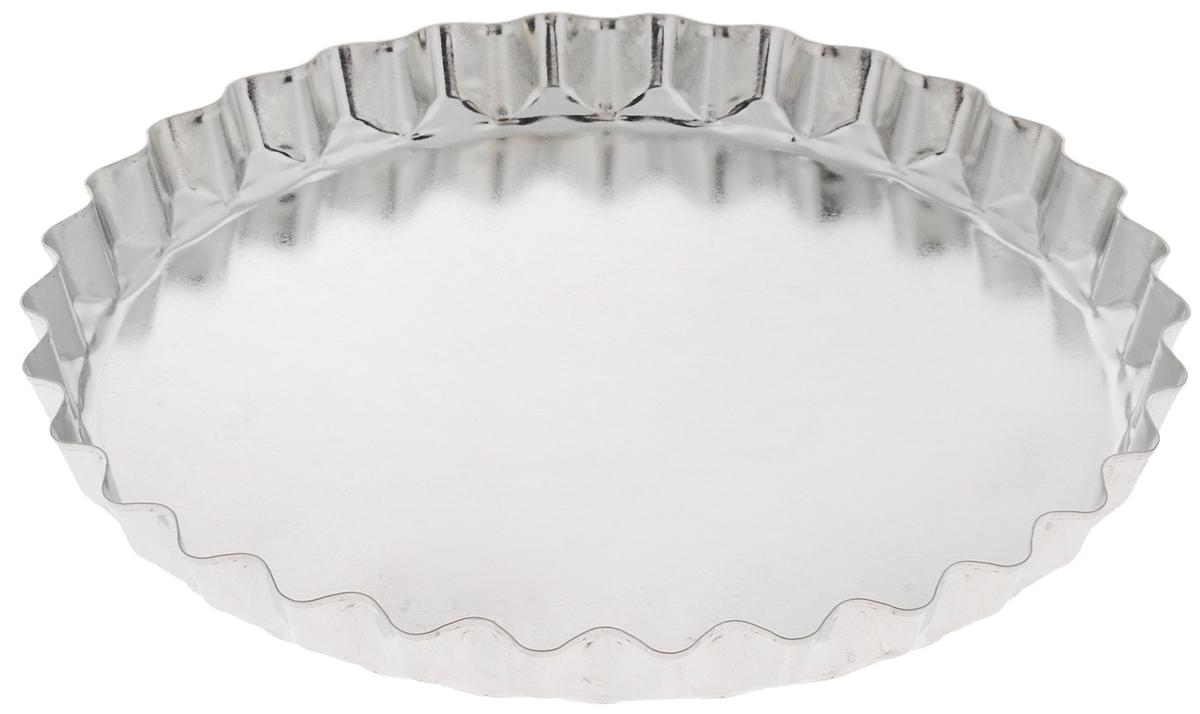 Форма для выпечки Кварц, диаметр 20,5 смКФ-16.000Форма Кварц, выполненная из белой жести, предназначена для выпечки и приготовления желе. Стенки изделия рельефные.С формой Кварц вы всегда сможете порадовать своих близких оригинальной выпечкой.Размер формы (по верхнему краю): 20,5 х 20,5 см.Высота формы: 2 см.