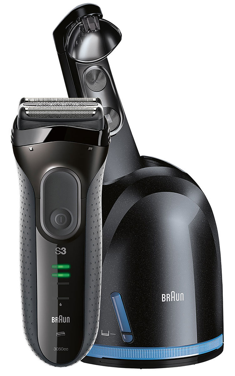 Braun Series 3 3050cc, Grey электробритва braun триммер