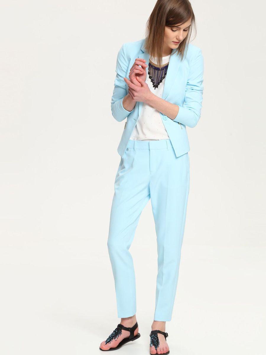 Жакет женский Troll, цвет: светло-голубой. TZK0145BL. Размер L (48)