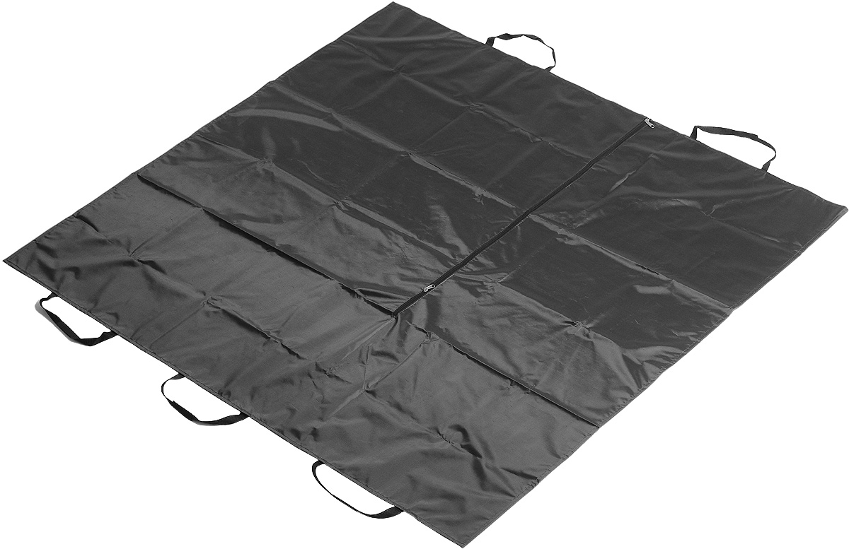 Накидка на сиденья для перевозки животных Zipower, цвет: черный, 150 см х 150 см накидка на переднее сиденье isky sheepskin с подкладом цвет серый 140 см х 50 см iss 09gs