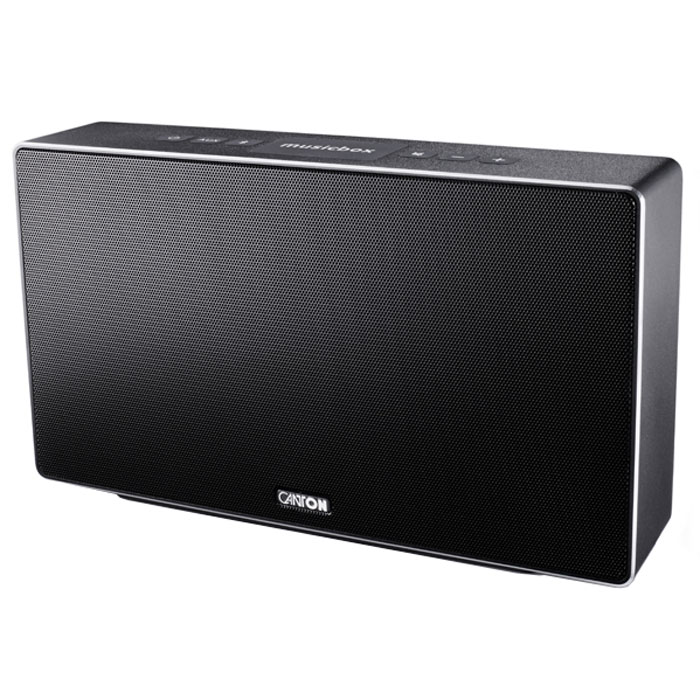 Canton Musicbox S, Black портативная акустическая система4010243036823Canton Musicbox S - портативная акустическая система с насыщенными, живыми басами.Благодаря специальному процессору и оптимизированным параметрам излучателей система обеспечивает очень живой и натуральный звук, который прекрасно подходит для прослушивания музыки. При этом Canton Musicbox S отлично отыгрывает как lossless, так и MP3 файлы, что делает ее отличным выбором для тех, кто хранит на своих портативных устройствах самые обширные музыкальные коллекции.Данная модель оснащена приемником Bluetooth 4-го поколения, поддерживающего протоколы связи EDR, A2DP, HFP и HSP, а также технологию упрощенного соединения с мобильными устройствами NFC. Последняя позволяет осуществить стыковку с совместимыми гаджетами буквально одним движением руки: достаточно поднести смартфон или планшетный ПК к специальной площадке на корпусе, и через пару секунд связь будет установлена. Система оснащена также и традиционным линейным стереовходом для любых источников аудиосигнала. Корпус колонки имеет изготовлен из прорезиненного пластика, что обеспечивает хорошую защиту от внешних погодных воздействий и улучшает демпфирование стенок, снижая нежелательные резонансы. Лицевая панель оснащена жестким защитным грилем с логотипом компании.Частота кроссовера: 3300 Гц
