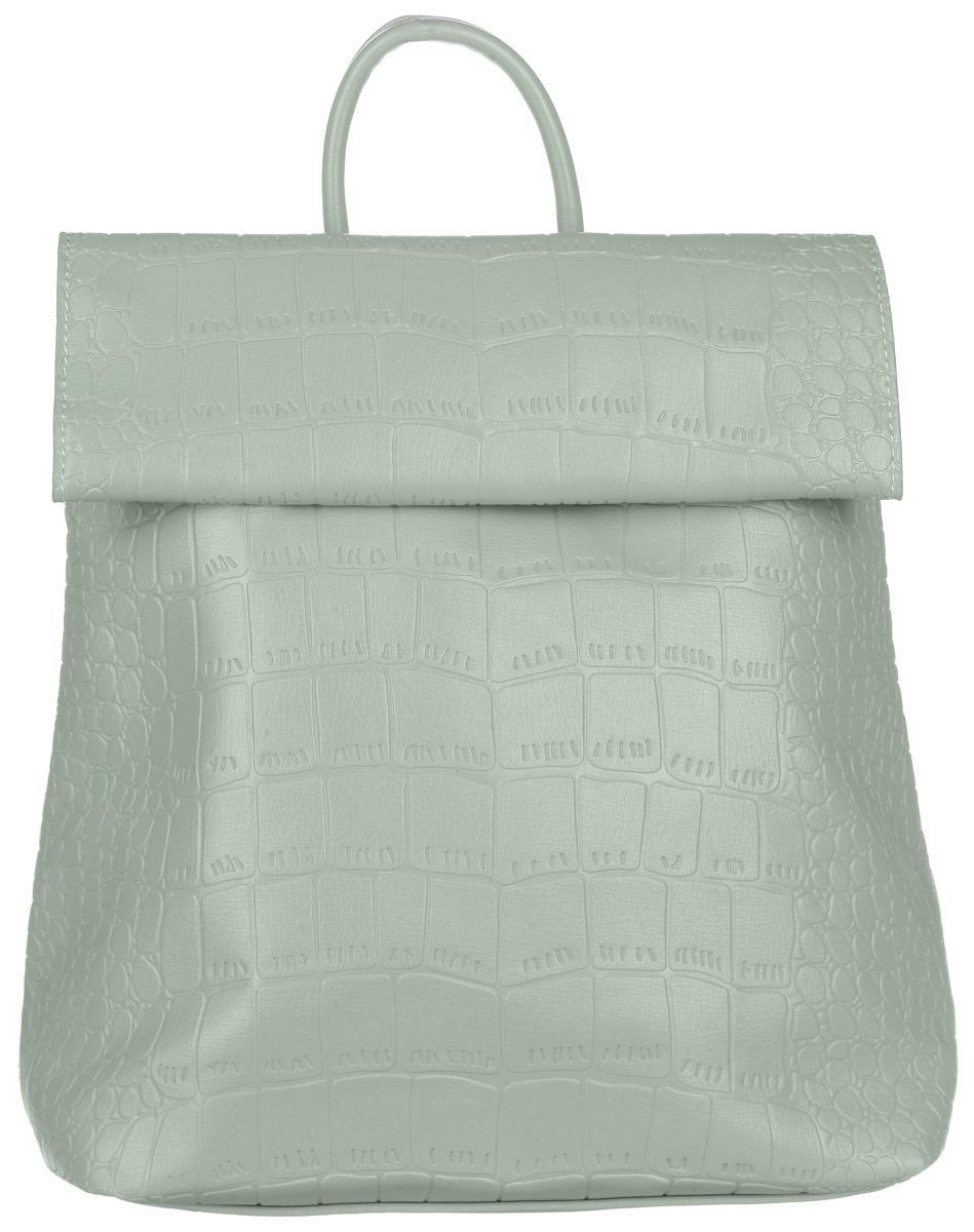 Рюкзак женский OrsOro, цвет: зеленый. D-247/16