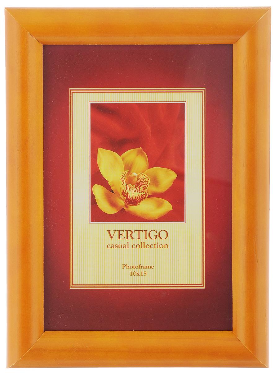 Фоторамка Vertigo Toscana, цвет: вишня, 10 х 15 см12194 WF-022/194Фоторамка Vertigo Toscana выполнена из дерева и стекла, защищающего фотографию. Обратная сторона рамки оснащена специальной ножкой, благодаря которой ее можно поставить на стол или любое другое место в доме или офисе. Также изделие оснащено специальными отверстиями для подвешивания на стену.Такая фоторамка поможет вам оригинально и стильно дополнить интерьер помещения, а также позволит сохранить память о дорогих вам людях и интересных событиях вашей жизни.
