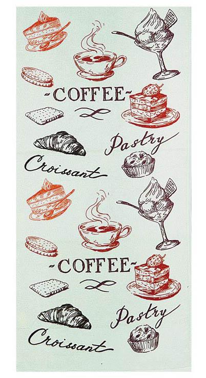 Полотенце кухонное Soavita Kitchen Mix Lunch, цвет: бирюзовый, 34 х 76 см83042Кухонное полотенце Soavita Kitchen Mix Lunch, выполненное из высококачественной микрофибры (полиэстер), оформлено оригинальным рисунком. Микрофибра - материал высочайшего качества, изготовленный из сложных микроволокон, по ощущениям напоминает велюр и передающий уникальное и невероятное чувство мягкости. Ткань из микрофибры дышащая, устойчива к загрязнениям и пятнам, сохраняет свой высококачественный внешний вид и уникальную мягкость в течении всего срока службы. Изделие предназначено для использования на кухне и в столовой.Такое полотенце станет отличным вариантом для практичной и современной хозяйки.Soavita – это популярный бренд домашнего текстиля. Дизайнерская студия этой фирмы находится во Флоренции, Италия. Производство перенесено в Китай, чтобы сделать продукцию более доступной для покупателей. Таким образом, вы имеете возможность покупать продукцию европейского качества совсем не дорого. Домашний текстиль прослужит вам долго: все детали качественно прошиты, ткани очень плотные, рисунок наносится безопасными для здоровья красителями, не линяет и держится много лет. Все изделия упакованы в подарочные упаковки.
