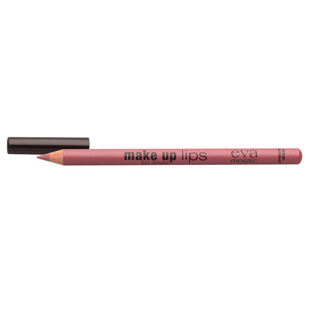 Eva Mosaic Карандаш для объема губ Make Up Lips, 1,1 г, Нежно-Розовый tom & eva to037awtji88
