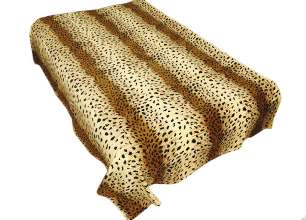 Плед Absolute, цвет: коричневый , 150 х 200 см. 4398243982Плед Absolute - это идеальное решение для вашего интерьера! Он порадует вас легкостью, нежностью и оригинальным дизайном! Плед выполнен из 100% полиэстера и оформлен ярким рисунком. Полиэстер считается одной из самых популярных тканей. Это материал синтетического происхождения из полиэфирных волокон. Внешне такая ткань схожа с шерстью, а по свойствам близка к хлопку. Изделия из полиэстера не мнутся и легко стираются. После стирки очень быстро высыхают.Плед - это такой подарок, который будет всегда актуален, особенно для ваших родных и близких, ведь вы дарите им частичку своего тепла!Плотность: 300 г/м2.