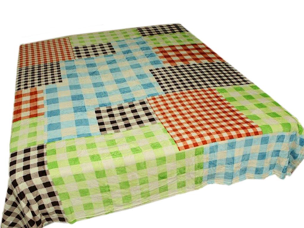 Плед Absolute, цвет: разноцветный , 200 х 240 см. 5393253932Плед Absolute - это идеальное решение для вашего интерьера! Он порадует вас легкостью, нежностью и оригинальным дизайном! Плед выполнен из 100% полиэстера и оформлен ярким рисунком. Полиэстер считается одной из самых популярных тканей. Это материал синтетического происхождения из полиэфирных волокон. Внешне такая ткань схожа с шерстью, а по свойствам близка к хлопку. Изделия из полиэстера не мнутся и легко стираются. После стирки очень быстро высыхают.Плед - это такой подарок, который будет всегда актуален, особенно для ваших родных и близких, ведь вы дарите им частичку своего тепла!Плотность: 295 г/м2.