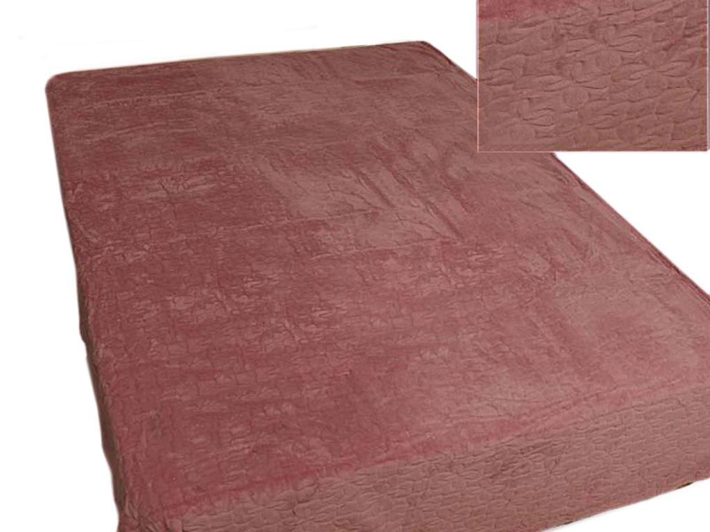 Плед Absolute, тисненый, цвет: коричневый, 150 х 200 см. 58344