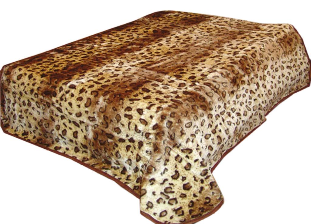 Плед Tamerlan, нестриженый, цвет: коричневый, 160 х 210 см. 6138661386плотность 510 гр/м2