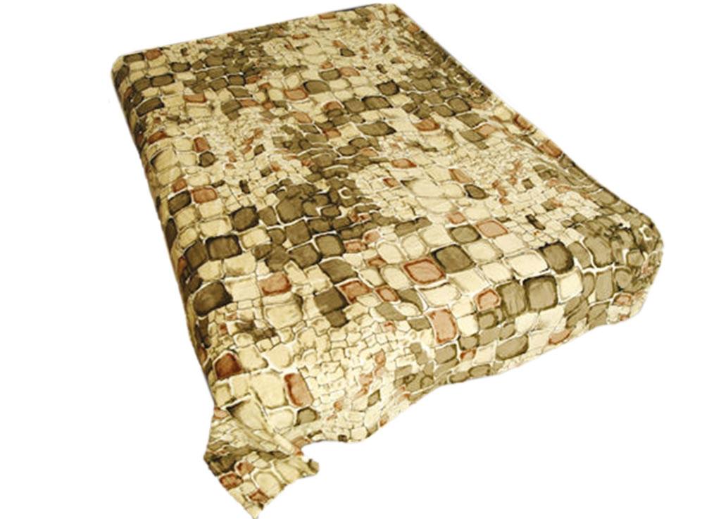 Плед ТД Текстиль Absolute, цвет: бежевый , 120 х 150 см. 81705