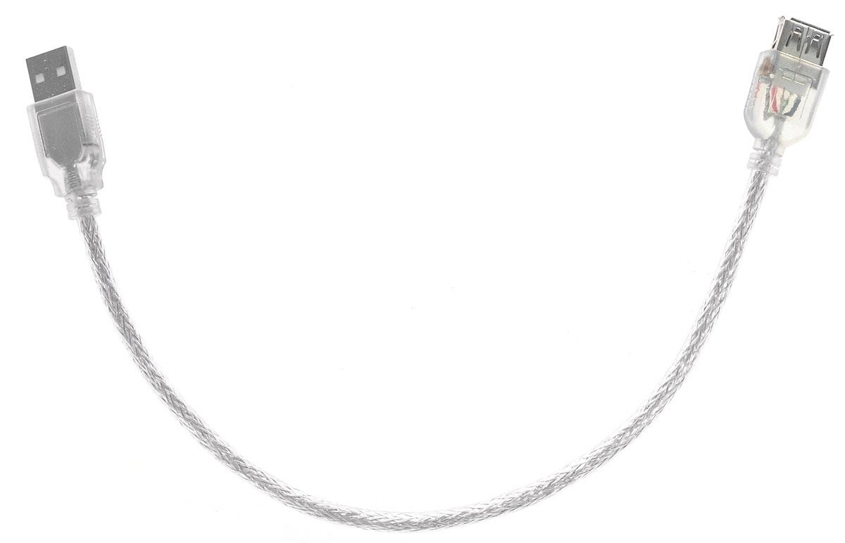 Greenconnect Premium GCR-UEC2M-BD2S, Clear кабель-удлинитель USB 0.3 м цена и фото