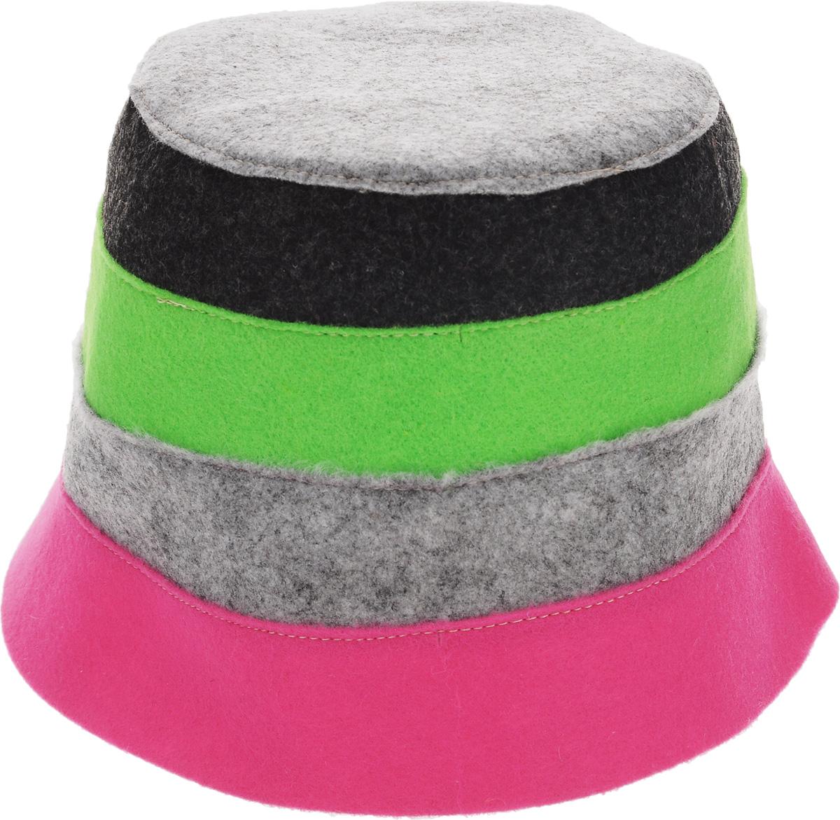 Шапка для бани и сауны Доктор баня В полоску, цвет: розовый, серый, зеленый905254_розовый, серый, зеленыйШапка для бани и сауны Доктор баня В полоску, выполненная из 100% полиэстера, является оригинальным и незаменимым аксессуаром для любителей попариться в русской бане и для тех, кто предпочитает сухой жар финской бани. Необычный дизайн изделия поможет сделать ваш отдых более приятным и разнообразным. При правильном уходе шапка прослужит долгое время - достаточно просушивать ее.Обхват головы: 60 см.
