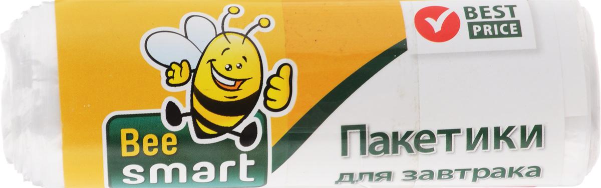 """Пакеты """"Beesmart"""" прекрасно сохраняют свежесть и естественный аромат продуктов, жиро- и водонепроницаемы, экономичны и абсолютно безвредны. Идеально подходят для хранения завтраков на работе, в школе или поездке. Просты в использовании.Размер пакета: 20 х 30 см."""