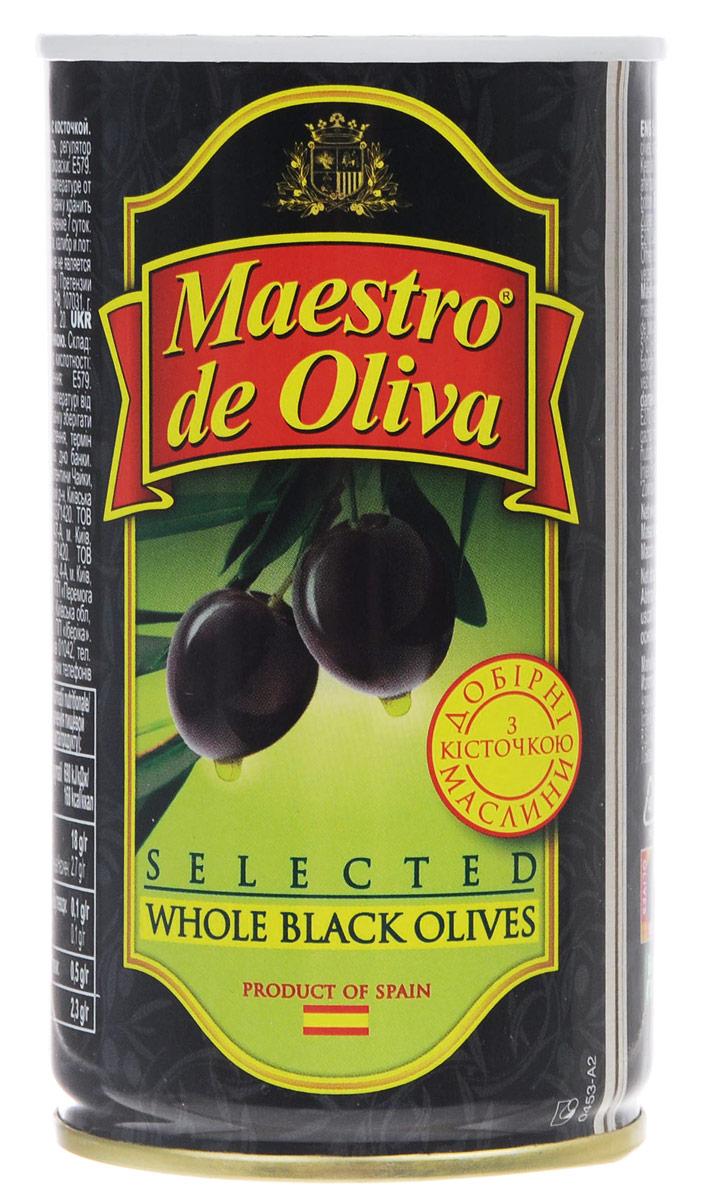 Maestro de Oliva отборные маслины с косточкой, 360 г maestro de oliva оливки с беконом 300 г