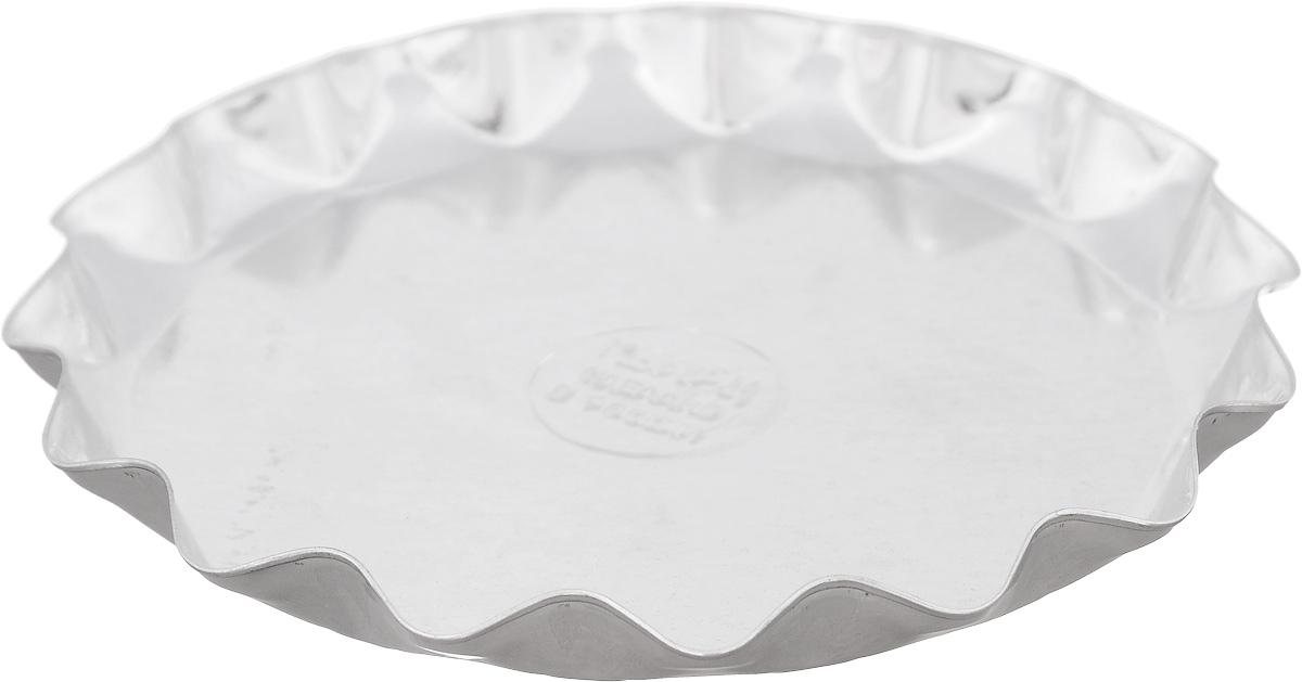 """Форма """"Кварц"""", выполненная из белой жести, предназначена для выпечки и приготовления желе. Стенки изделия рельефные.С формой """"Кварц"""" вы всегда сможете порадовать своих близких оригинальной выпечкой.Размер формы (по верхнему краю): 13,5 х 13,5 см.Высота формы: 1,5 см."""
