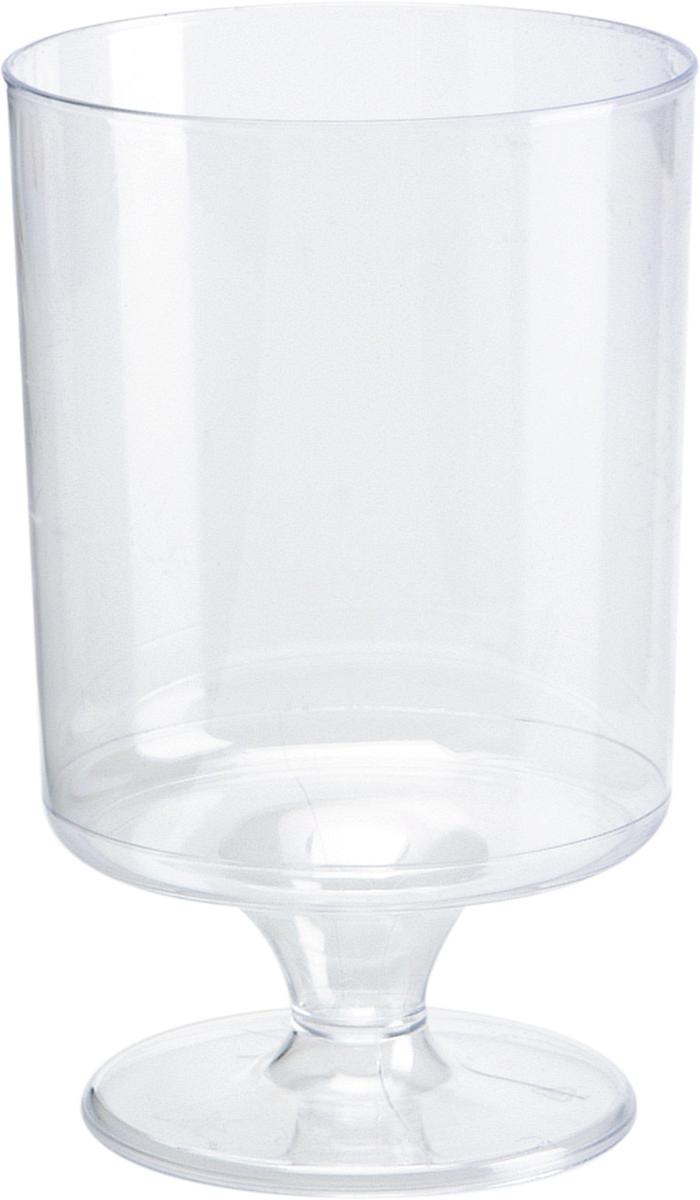Набор пластиковых бокалов для вина Duni Chateau, цвет: прозрачный, 170 мл, 12 шт164379Набор Duni Chateau состоит из 12 бокалов, выполненных из высококачественного пластика и предназначенных для одноразового использования. Такие бокалы идеально подойдут для подачи вина, а также для других холодных напитков. Одноразовые бокалы будут незаменимы при поездках на природу, пикниках и других мероприятиях. Бокалы не займут много места и самое главное - после использования их не надо мыть.Диаметр бокала (по верхнему краю): 5,7 см. Высота бокала: 9,4 см.