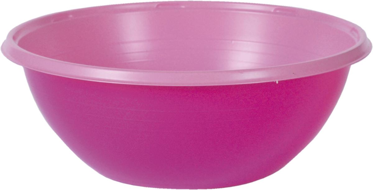 Тарелка пластиковая COLORIX, 380 мл, в комплекте 10 шт