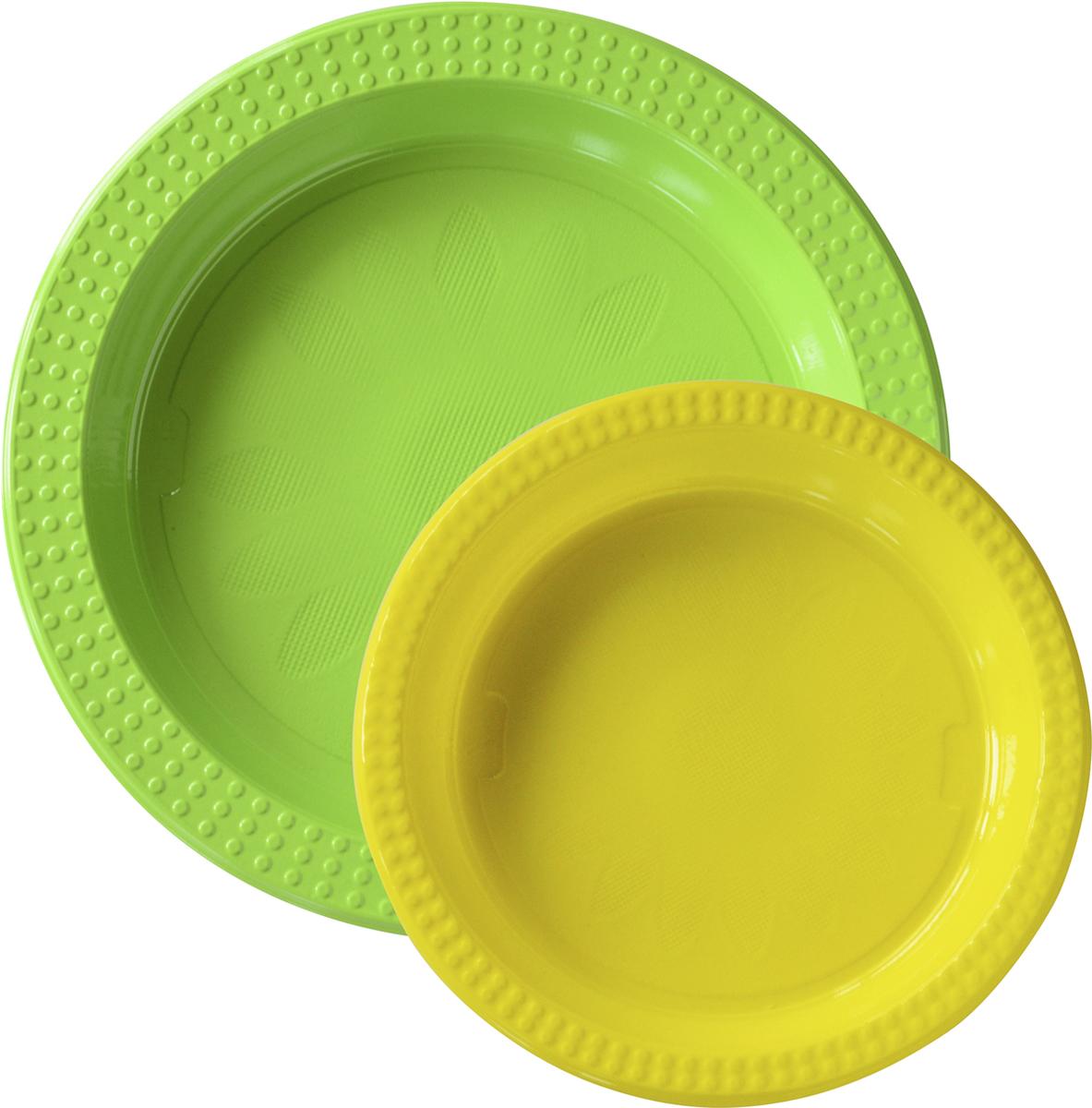 Тарелки пластиковые, 22см и 17см, в комплекте 20 шт167729Еда – одна из важнейших частей нашей жизни. Еда объединяет разных людей. Впечатляющая сервировка стола вдохновит любое застолье и превратит его в запоминающийся момент – для всех чувств, не только вкуса.Мы не только простой производитель салфеток, скатертей, свечек, чашек, тарелок и ножей с вилками. Мы – создатель атмосферы, вдохновения и сюрпризов – все это основные части обеда, ужина, вечеринки или незабываемого пикника.Используя современные инновации, скандинавский дизайн и опыт накопленный столетиями, мы сделаем вашу трапезу незабываемым праздником.