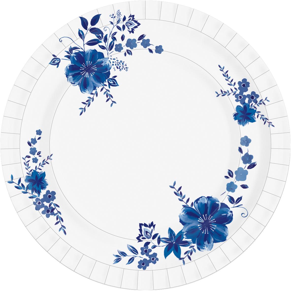 """Набор одноразовой посуды Duni """"Laura"""" состоит из 10 круглых тарелок, выполненных из плотной бумаги и предназначенных для одноразового использования. Изделия декорированы высококачественным стильным узором. Одноразовые тарелки будут незаменимы в поездках на природу, пикниках и других мероприятиях. Они не займут много места, легки и самое главное - после использования их не надо мыть.Не использовать в микроволновой печи.Диаметр тарелки (по верхнему краю): 22 см.Высота тарелки: 2 см.Количество в упаковке: 10 шт."""