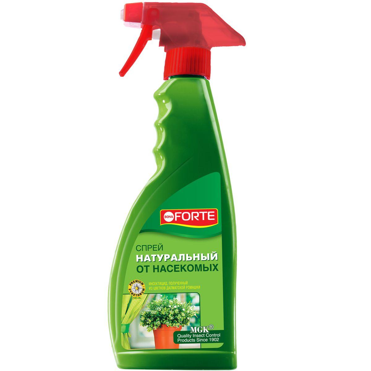 Натуральное инсектицидное средство Bona Forte, спрей, 500 млBF-26-02-001-1Для моментального уничтожения летающих насекомых-вредителей. Не вызывает привыкания у насекомых. Безопасная обработка - после воздействия натурального пиретрума на насекомых, действующие вещества быстро разлагаются до экологически безопасных остатков, не причиняя ущерб человеку и окружающей среде.Товар сертифицирован.