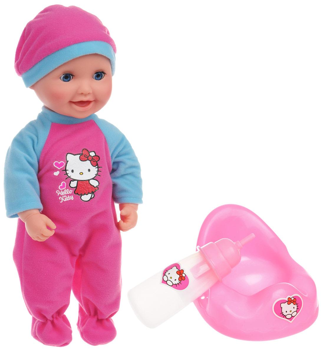 Карапуз Пупс Hello Kitty цвет одежды розовый голубой