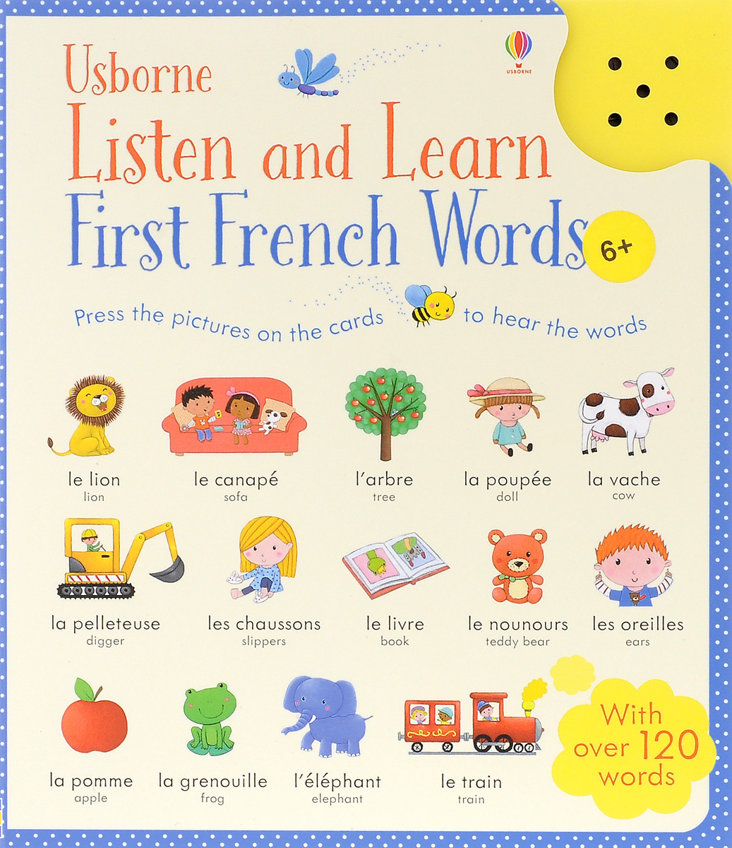 Listen and Learn First French Words mendes valerie first 100 words