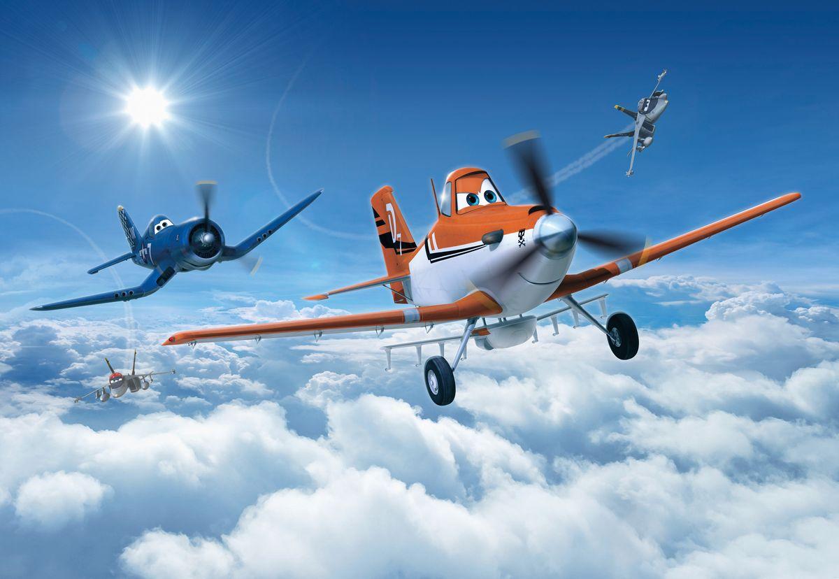Фотообои Komar Самолеты. Над облаками, 3,68 х 2,54 м фотообои komar звездные войны боба фетт 1 84 х 2 54 м