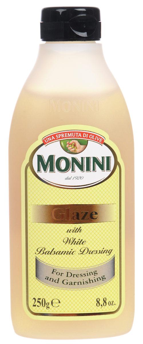 Monini Balsamic Glaze бальзамический соус белый, 250 г1612212Monini Balsamic Glaze - это белый бальзамический соус, который отлично подойдет как приправа к различным блюдам на ваш вкус, будь то мясо, рыба или овощи.
