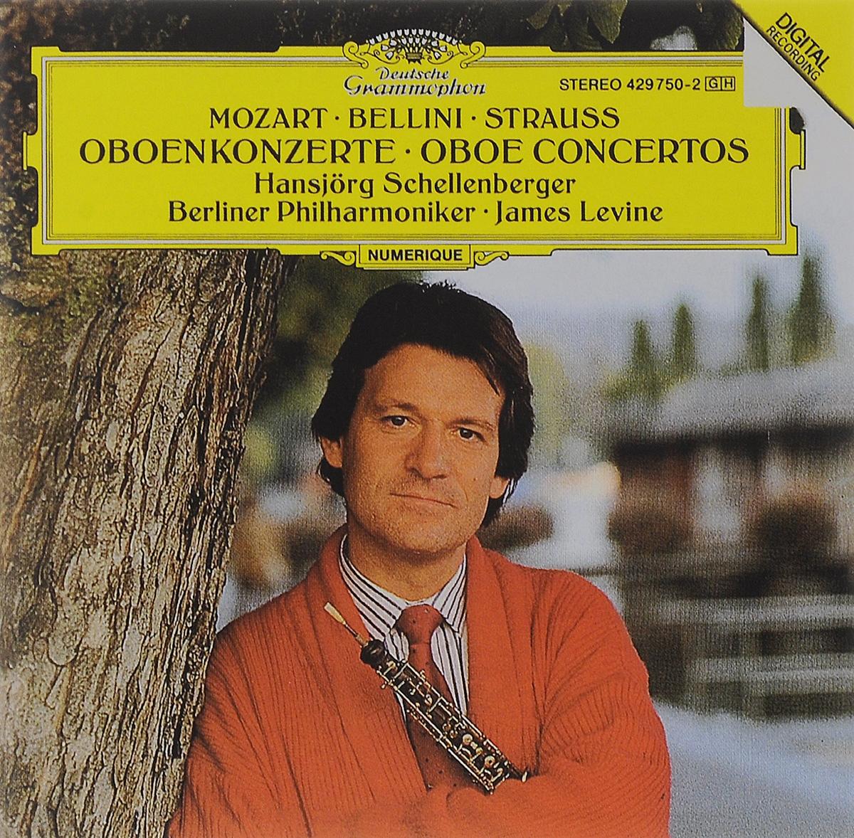 Джеймс Левайн,Berliner Philharmoniker,Хансйорг Шелленбергер James Levine. Mozart / Bellini / Strauss. Oboenkonzerte цены онлайн