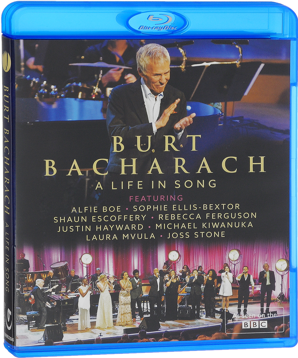 Burt Bacharach: A Life In Song (Blu-ray) burt bacharach berlin