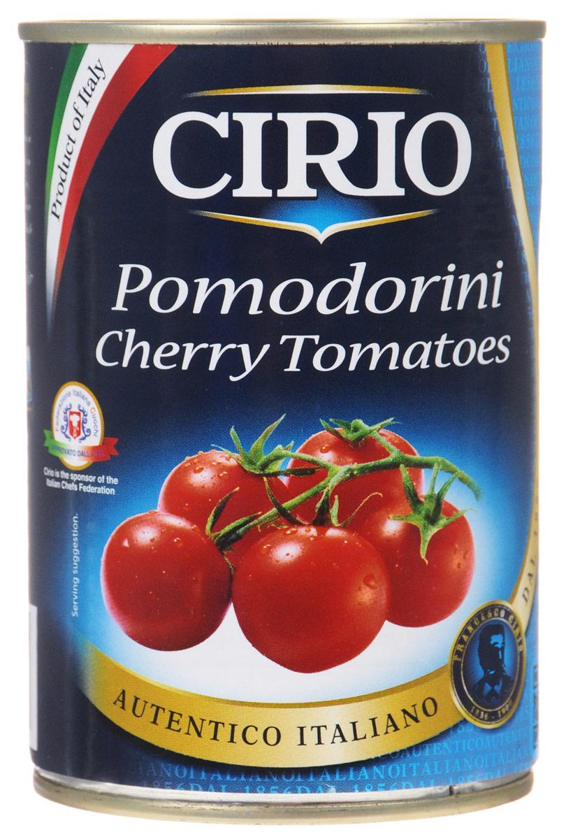 Cirio Cherry Tomatoes томаты черри в собственном соку, 400 г