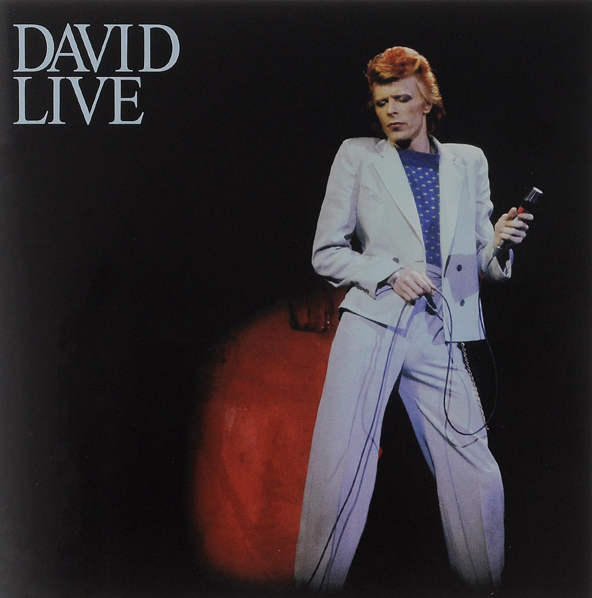 Дэвид Боуи David Bowie. David Live (2 CD) дэвид гилмор david gilmour live in gdansk 2 cd dvd