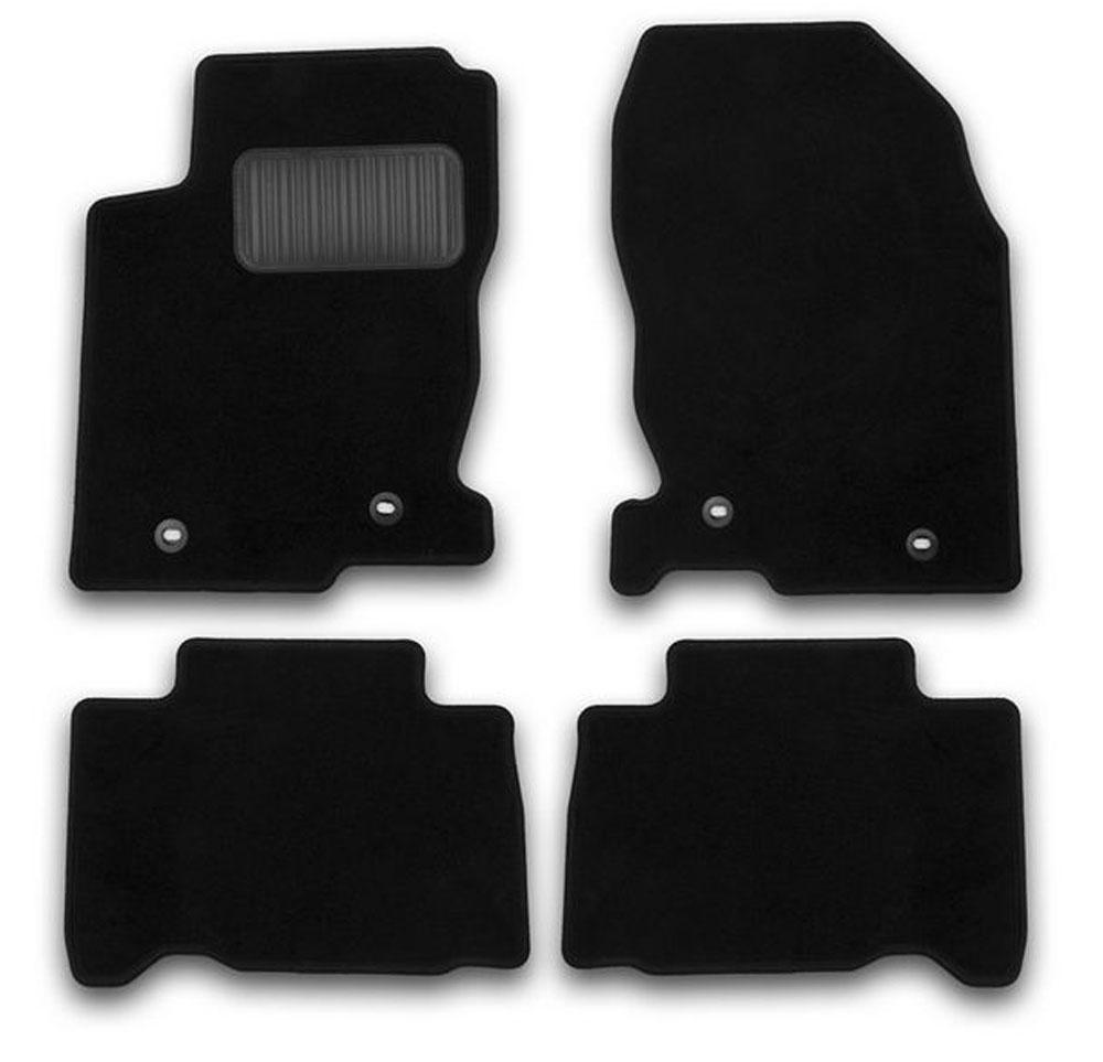 Набор автомобильных ковриков Klever для Lexus NX 2014-, кроссовер, в салон, 4 шт. KVR01297101200kKVR01297101200kНабор автомобильных ковриков Klever, изготовленный из текстиля, состоит из 4 ковриков, которые учитывают все особенности каждой модели автомобиля и полностью повторяют контуры пола. Текстильные автомобильные коврики для салона произведены из высококачественного материала, который держит форму, прочный и не пачкает обувь. Коврики в салон не только улучшат внешний вид салона вашего автомобиля, но и надежно уберегут его от пыли, грязи и сырости, а значит, защитят кузов от коррозии. Текстильные коврики для автомобиля мягкие и приятные, а их основа из вспененного полиуретана не пропускает влагу. Ковры для автомобилей надежно крепятся на полу и не скользят, что очень важно во время движения. Чистятся коврики очень просто: как при помощи автомобильного пылесоса, так и различными моющими средствами. Набор подходит для Lexus NX кроссовер с 2014 года выпуска.