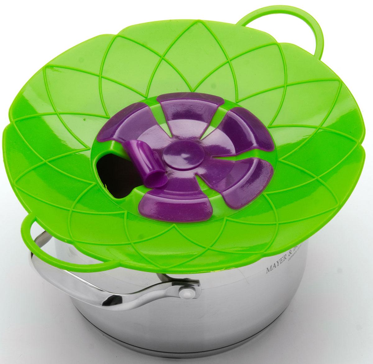 Силиконовая крышка 2 в 1 (невыкипайка и пароварка) изготовлена из силикона высокого качества. Не теряет форму от высоких температур. Крышка-невыкипайка предотвращает выкипание и брызги. Ваша кухня всегда будет в чистоте. Изделие значительно облегчит приготовление пищи. Вы даже можете оставлять без присмотра готовящуюся пищу. При хранение в прохладных местах - крышка обеспечит свежесть продуктов. При использовании крышки в микроволновой печи, масло не разбрызгивается. Можете готовить овощи и морепродукты на пару. Пища, приготовленная на пару вкусная и полезная.