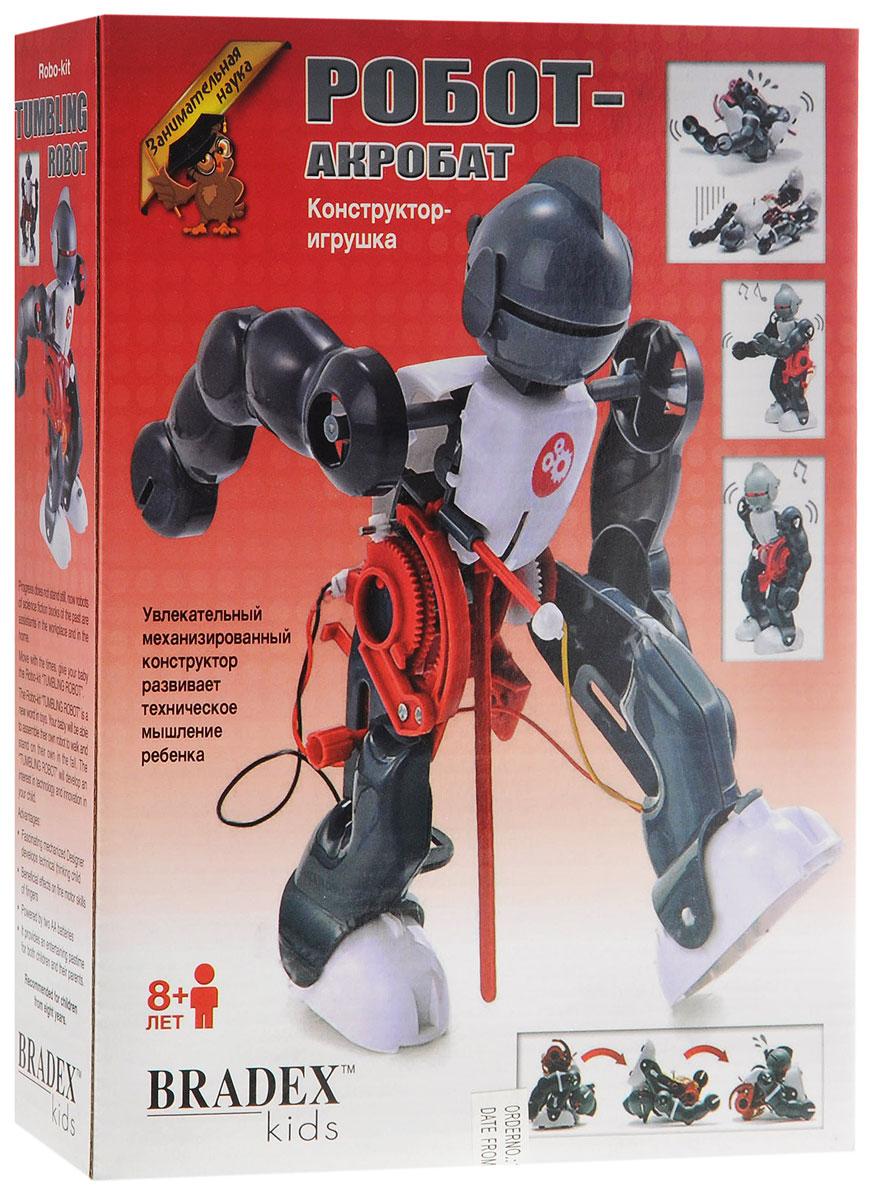 Bradex Конструктор Робот-акробат конструктор bradex трек трейн сэт
