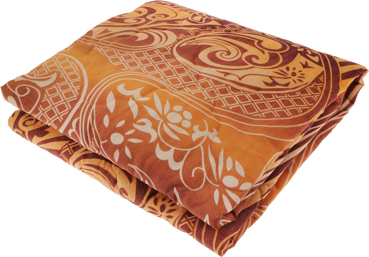 """Облегченное одеяло """"ЭГО"""" подарит уютный и комфортный сон. Чехол одеяла выполнен из полиэстера с красивым  узором. Внутри - тонкий слой наполнителя экофайбер.  Экофайбер - это полое силиконизированное волокно, аналог холлофайбера. Главными преимуществами такого  наполнителя являются его экологическая чистота и высокая теплозащита, более того он гипоаллергенен, не  впитывает пыль и запахи.  Одеяло с наполнителем экофайбер придется по душе людям, ценящим красоту и комфорт. Оригинальная стежка  равномерно распределяет наполнитель в чехле. Такое одеяло дарит прохладный сон летом. Простое в уходе  одеяло легко стирается в бытовой стиральной машине и быстро высыхает. Ваше одеяло прослужит долго, а его  изысканный внешний вид будет годами дарить вам уют. Уважаемые клиенты!  Товар поставляется в цветовом ассортименте. Поставка осуществляется в зависимости от  наличия на складе."""