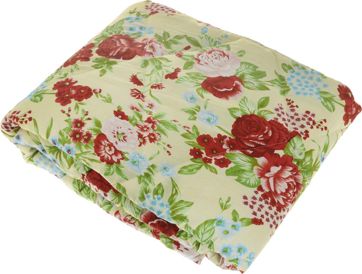 Одеяло легкое Sleeper Находка, наполнитель: овечья шерсть, цвет: бежевый, красный, 140 x 200 см22(33)323_бежевый с красными цветамиЛегкое шерстяное одеяло Sleeper Находка подарит уют и комфорт во время сна. Чехол одеяла выполнен измикрофибры (100% полиэстер) и оформлен красивым цветочным рисунком. Внутри - наполнитель из 100% овечьейшерсти. Изделия с шерстяным наполнителем имеют хорошую циркуляцию воздуха, уникальные теплозащитныесвойства, мягкость и упругость, а также благотворно влияют на организм.Одеяло простегано и окантовано, стежка надежно удерживает наполнитель внутри и не позволяет емускатываться.Одеяло очень легкое, удобное и комфортное, оно создаст оптимальный микроклимат в постели - в теплое времягода под ним не будет холодно, а летом - не будет жарко.Масса наполнителя: 200 г/м2.