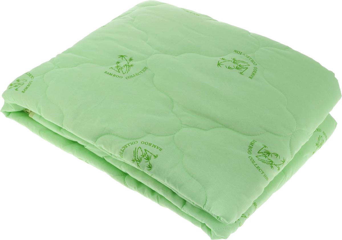 Одеяло ЭГО, наполнитель: бамбуковое волокно, 142 х 205 смЭО-2002-01Одеяло ЭГО подарит уютный и комфортный сон. Чехол одеяла выполнен из полиэстера и оформлен рисунком в виде бамбуковых стеблей. Внутри - наполнитель из бамбукового волокна. Такой наполнитель имеет массу достоинств: антибактериальные свойства, хорошую воздухонепроницаемость, прочность, гигроскопичность, экологичность. Кроме того, изделия с таким наполнителем очень просты в уходе - наполнитель не садится и не сбивается при стирке, обладает высокой прочностью и не впитывает запахи.Одеяло с бамбуковым наполнителем придется по душе людям, ценящим красоту и комфорт. Оригинальная стежка равномерно распределяет наполнитель в чехле. Такое одеяло дарит комфортный сон в любое время года. Одеяло легко стирается в стиральной машине и быстро высыхает. Ваше одеяло прослужит долго, а его изысканный внешний вид будет годами дарить вам уют.
