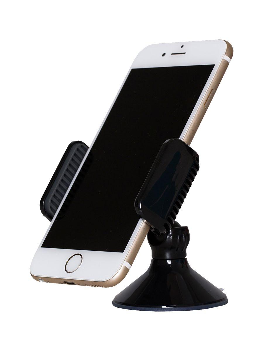 uBear 2 in 1, Black автомобильный держатель для смартфонов ubear smart fit white автомобильный держатель для смартфонов