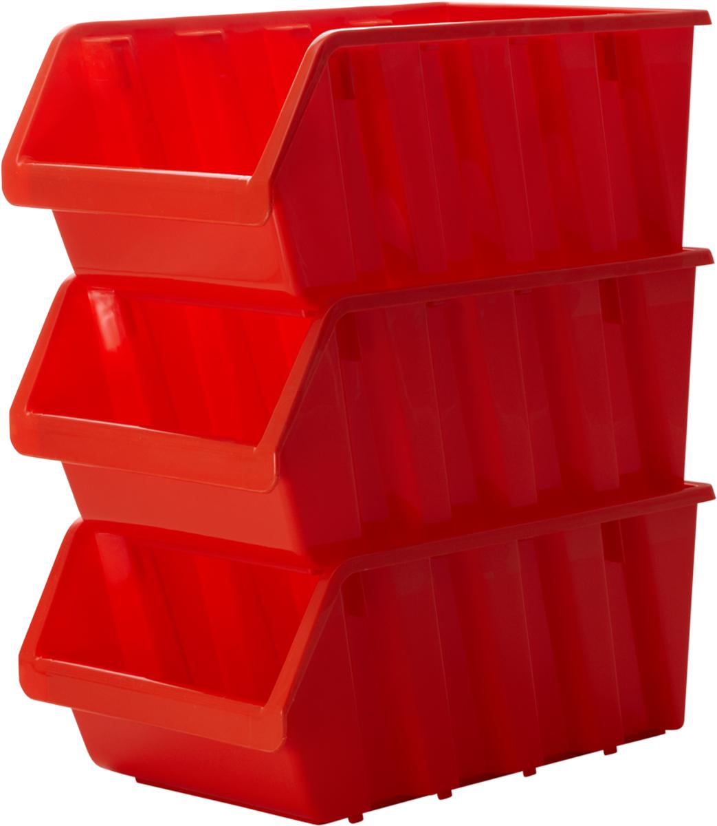 Лоток для метизов Blocker, цвет: оранжевый, 37,5 х 22,5 х 16 смПЦ3742ОРЛоток Blocker, выполненный из высококачественного пластика, предназначендля хранения крепежа и мелкого инструмента. Имеется возможностьсоединения нескольких лотков одинакового размера в единый блок. Лотки надежно ставятся друг на друга за счет специальной системы крепления. Оптимальная конструкция передней части для удобного вынимания метизов.